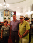 PM Lee Hsien Loong Visits Armenian Church @ Singapore Night Festival - Aug 2014