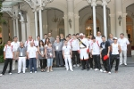 Armenian Youth Olympic Team at Raffles Hotel
